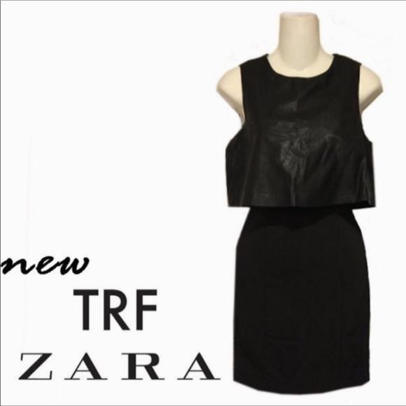 Zara Dresses & Skirts - ZARA Alaia inspired Little Black Edgy Dress